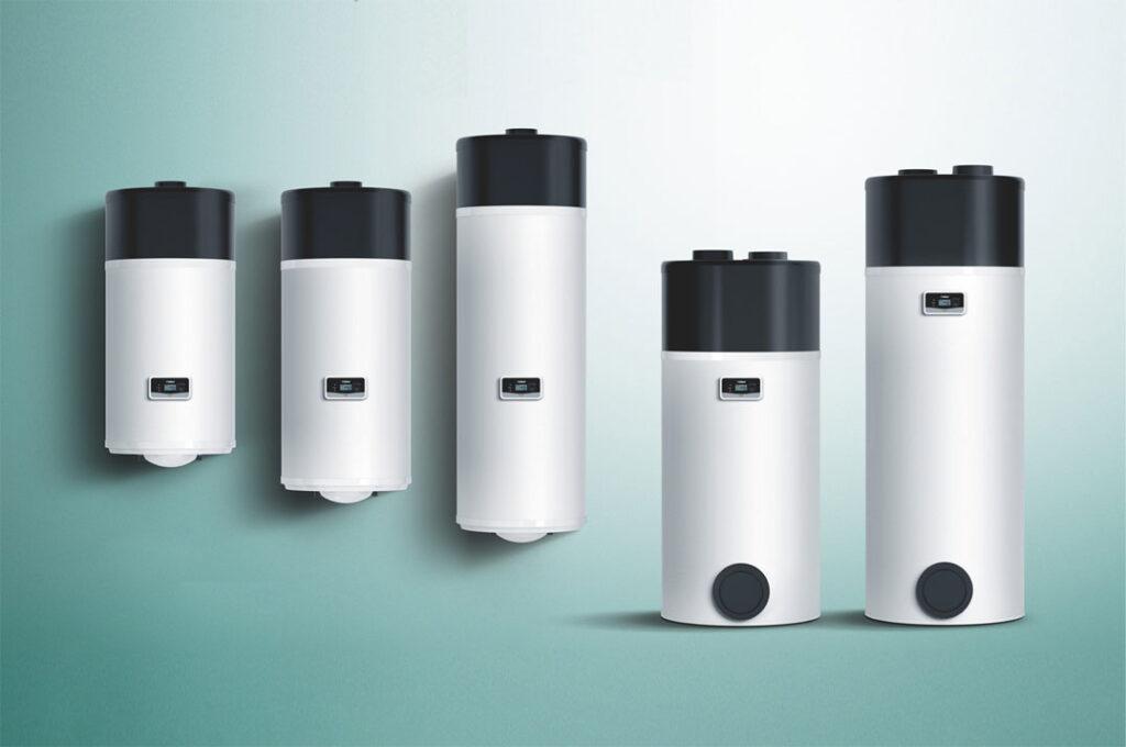 Compleet gamma overzicht Vaillant arostor warmtepompboilers
