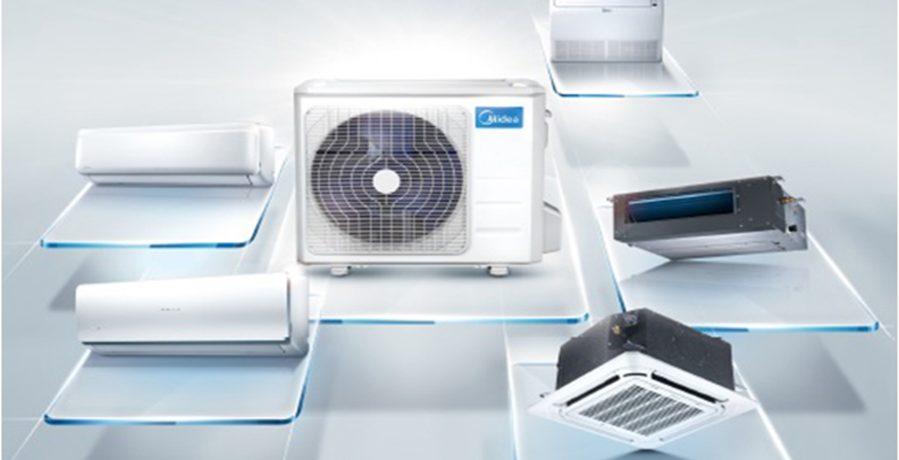 Midea multisplit airco mogelijke binnentoestellen