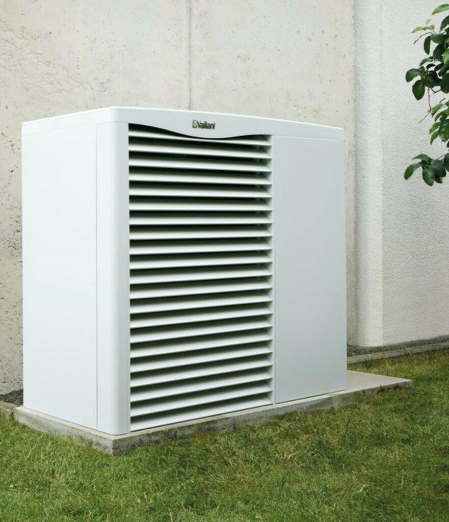 Vaillant arotherm vwl monobloc lucht water warmtepomp buitenopstelling